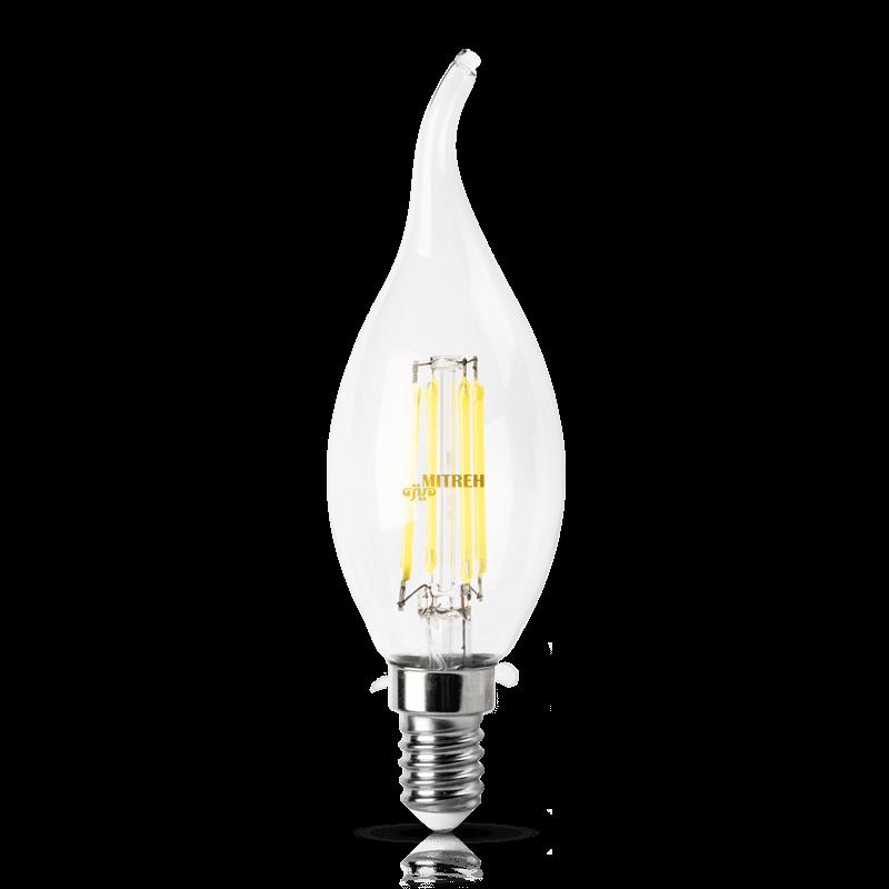 لامپ ال ای دی فیلامنتی اشکی ۴ وات