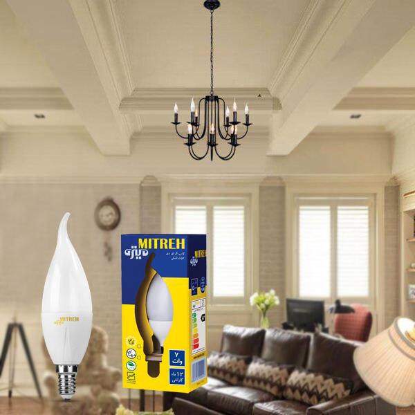 لامپ اشکی لوستر