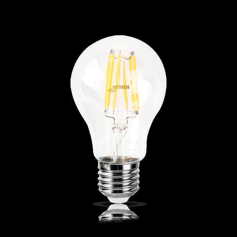 لامپ ال ای دی فیلامنتی حبابی ۸ وات