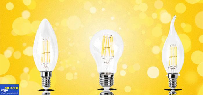 خرید لامپ ال ای دی فیلامنتی