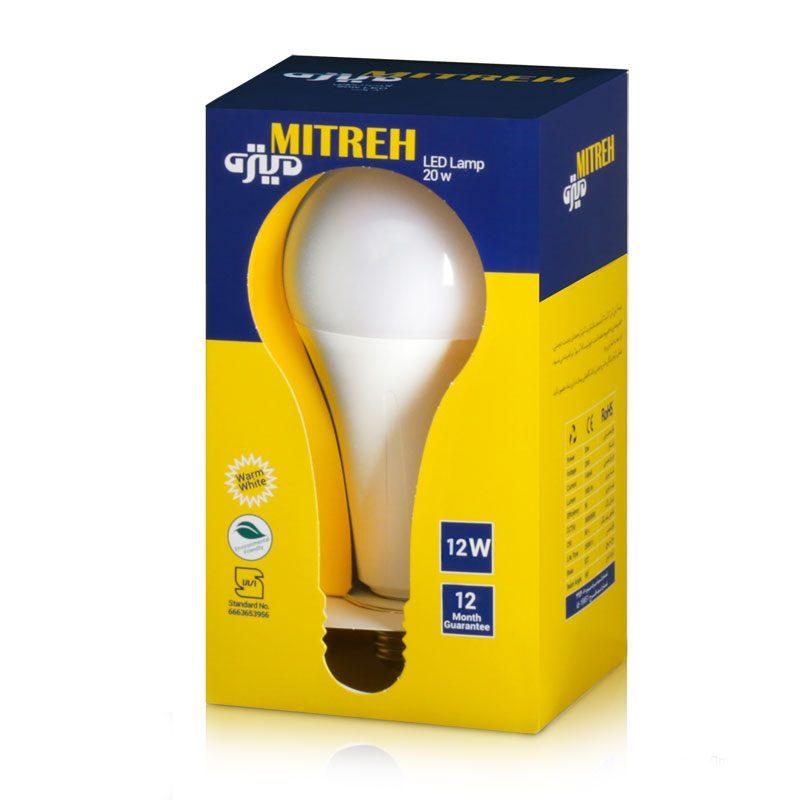 لامپ ال ای دی حبابی 12 وات