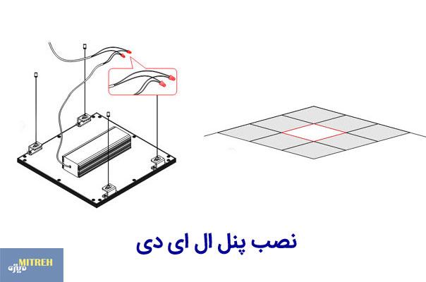آموزش نصب پنل ال ای دی