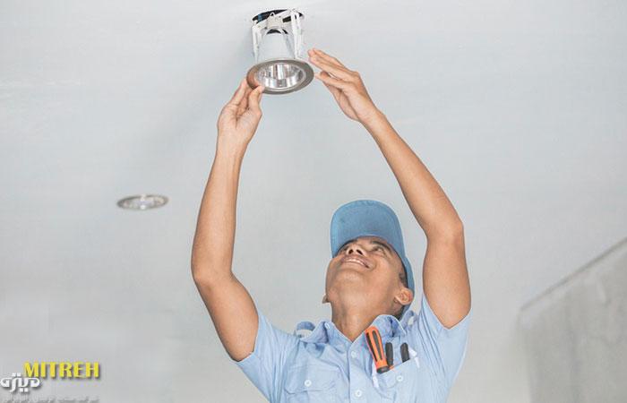 آموزش و راهنمای نصب لامپ ال ای دی
