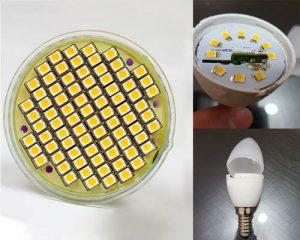 آموزش تعمیر لامپ ال ای دی