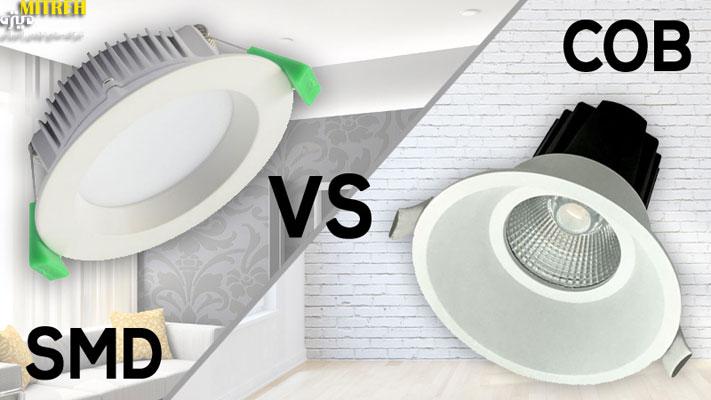 تفاوت-لامپ-smd-و-cob