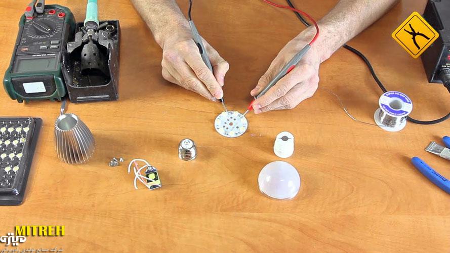 ساخت لامپ ال ای دی