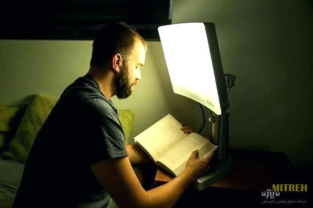 انتخاب نور چراغ مطالعه ال ای دی
