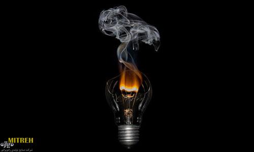 علت سوختن لامپ ال ای دی