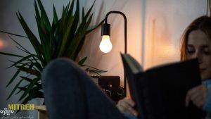 لامپ ال ای دی برای مطالعه | نور مناسب برای مطالعه