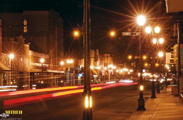 اهداف-ویژگی-های-روشنایی معابر عمومی