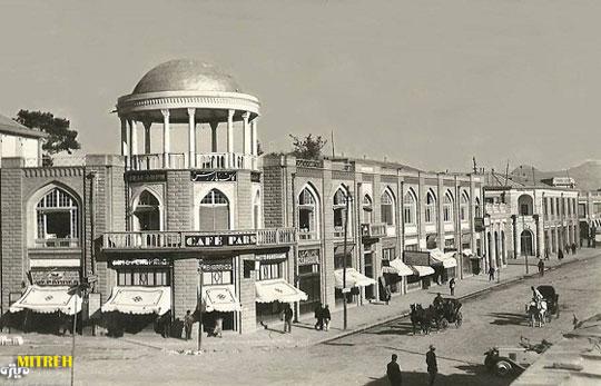 تاریخچه خیابان لاله زار تهران