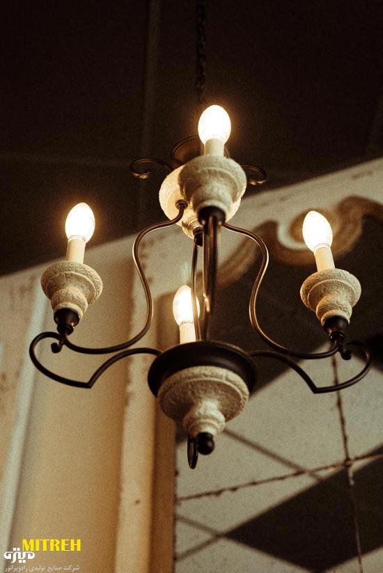 لامپ لوستر فیلامنتی