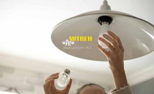 چرا لامپ روشن نمیشه
