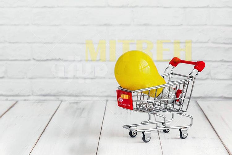 خرید آنلاین لامپ ال ای دی
