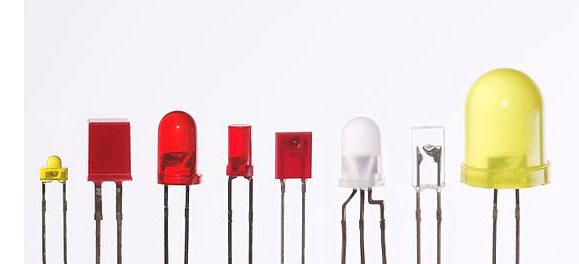 لامپ ال ای دی کوچک رنگی