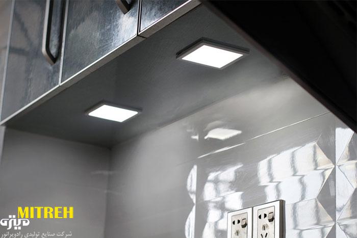 لامپ مربعی سقفی-ال-ای-دی