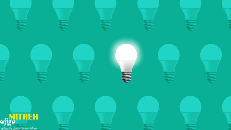 علت کم نور شدن لامپ ال ای دی چیست ؟