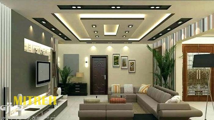 انواع-نورپردازی-سقف-کاذب