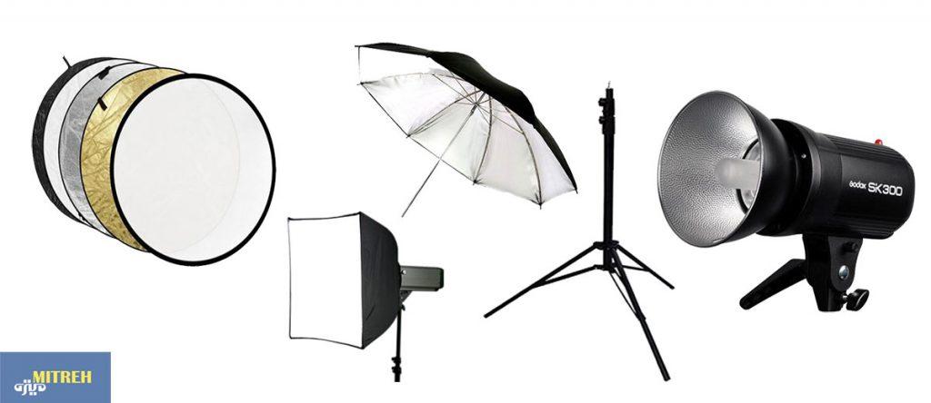 تجهیزات-نور-لامپ-برای-عکاسی-در-خانه