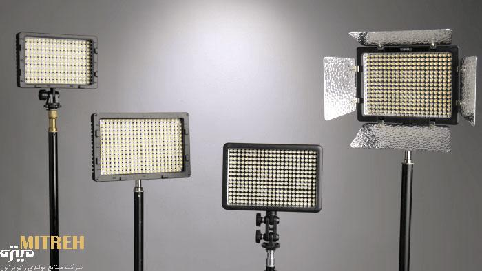 نور-لامپ-ال-ای-دی-برای-عکاسی