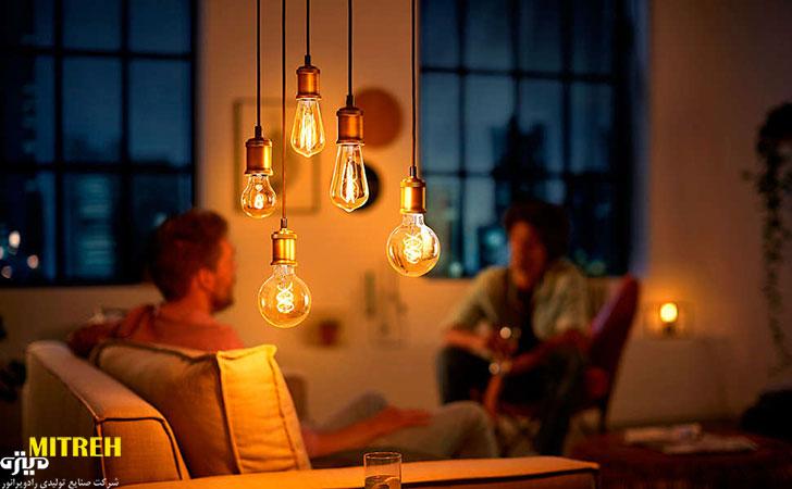 خرید لامپ تزئینی ادیسونی