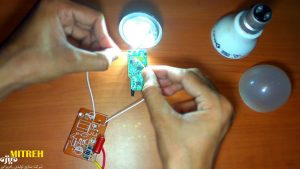 عیب یابی لامپ ال ای دی برای تعمیر لامپ